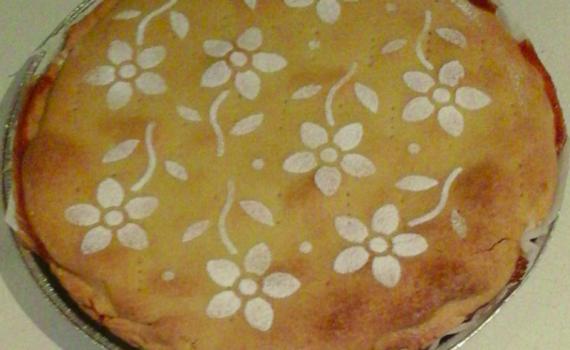 torta ricotta e mandorle