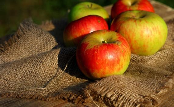maschera viso con le mele