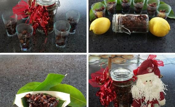 bicchierini di frutta secca, come servire la frutta secca