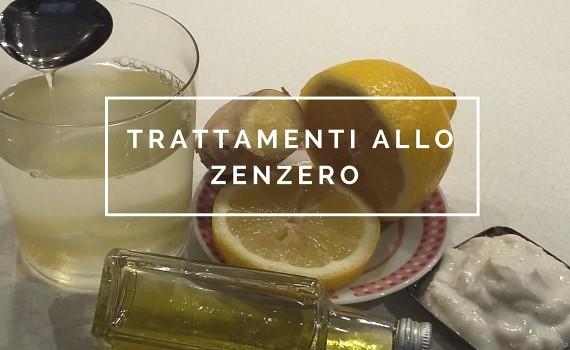 trattamenti allo zenzero con ingredienti naturali