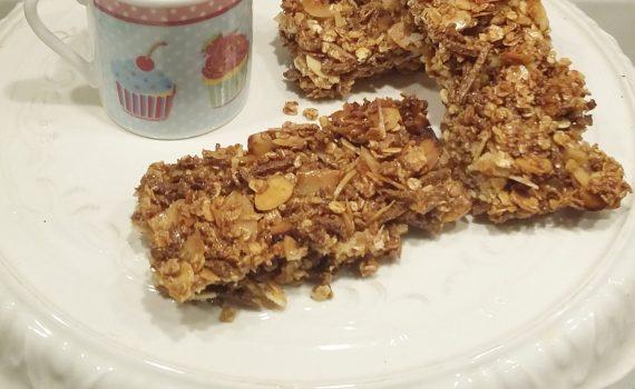 barrette di cereali con caffè