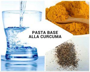 pasta base alla curcuma per latte d'oro