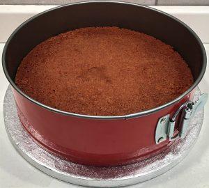 base al cioccolato in stampo a cerniera
