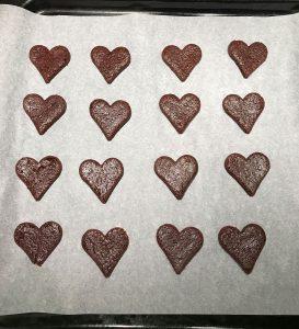 biscotti al cioccolato in forno