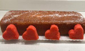 plumcake con sorpresa appena sfornato