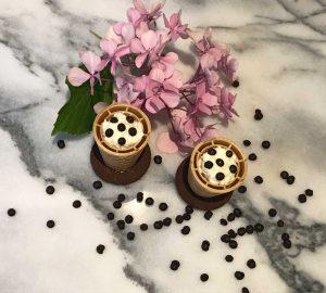 cornetto con ricotta e cioccolato