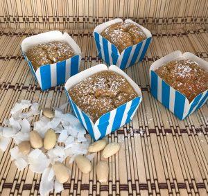 muffin mandorle e cocco
