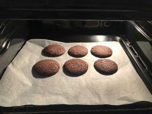 biscotti al cioccolato per Halloween