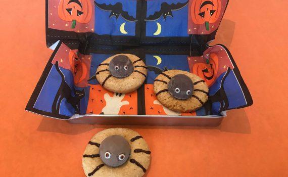 ragnetti di Halloween in scatola