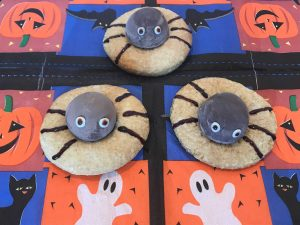 ragnetti di Halloween per bambini