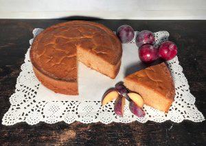 torta alle prugne