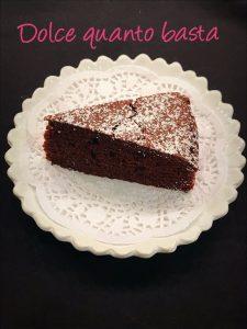 dolce al cacao senza glutine ricetta