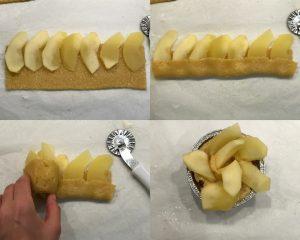 fasi rose di mele