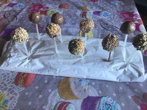 cake pop su base polistirolo