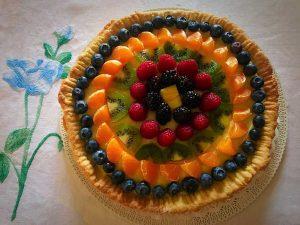 crostata alla frutta dolce quanto basta
