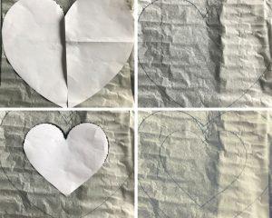 forma cuore cream tart