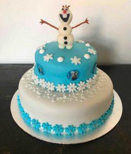 torta frozen decorata