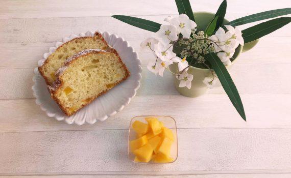 plumcake al mango