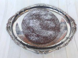 torta di carrube vegan