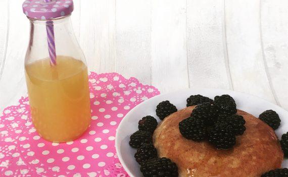 pancake proteico al cocco