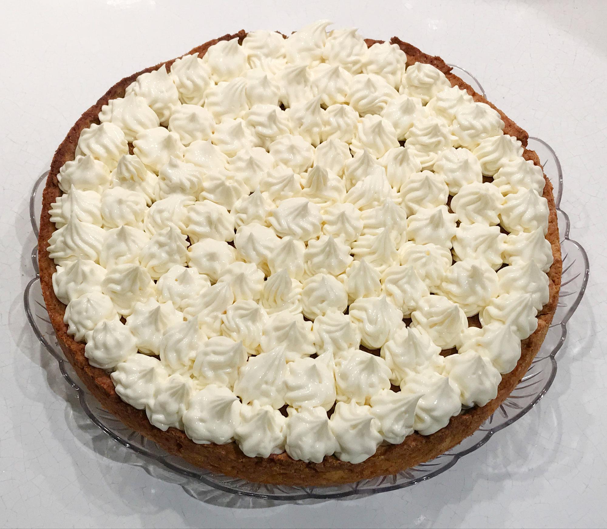 Torta Al Pistacchio Con Crema Di Limone More E Lamponi Dolce