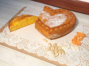 dolce tenerello cocco mandorle carote