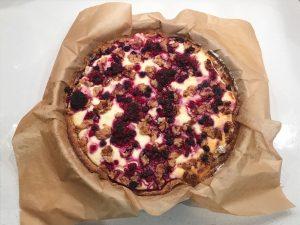 cheesecake senza burro ricetta