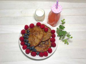 pancake con semi di chia