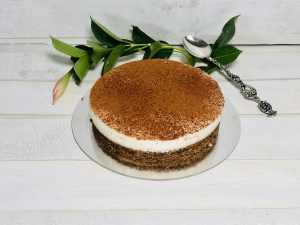 fit cheesecake al cacao