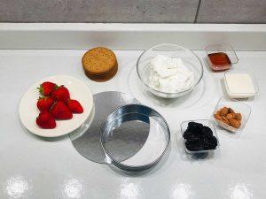ingredient fit cheesecake