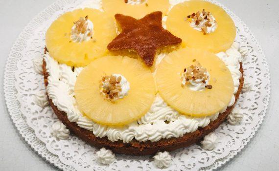 torta all'ananas