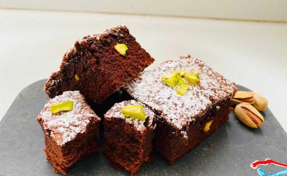 brownies al pistacchio ricetta